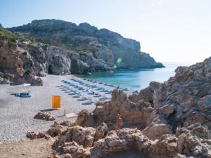 Пляж Афанду, Родос