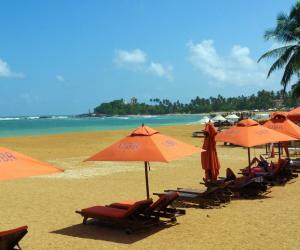 Пляж Унаватуна Шри-Ланка