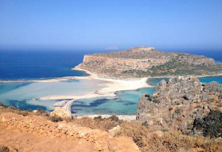 Бухта Балос, Крит