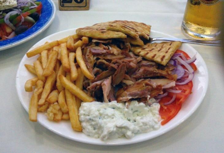 Сколько стоит еда на Родосе