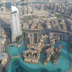 Дубаи с высоты в 500 метров