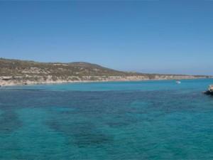 Две голубые лагуны Кипра