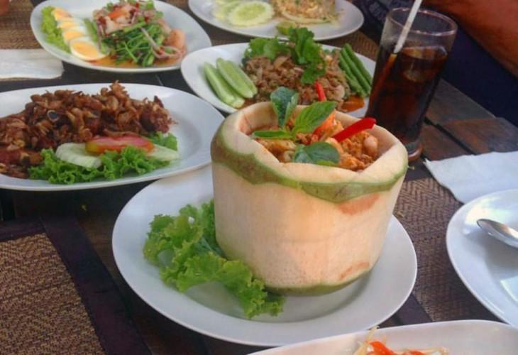 Сколько стоит еда в Паттайе