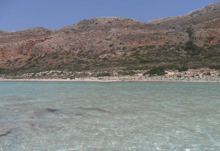 Бухта Аделе, Крит